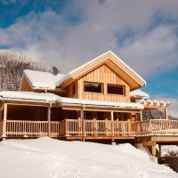 Wooden Luxury Chalet 'Murmeltierhütte' in Hohentauern with Sauna