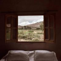 Ruphay: Cabaña equipada con vista a los cerros en el campo
