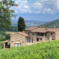Pié Vecchia ,Villa+Fienile - Greve in Chianti, hotel in Chiocchio