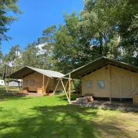 Glamping Safaritent op camping De Rimboe