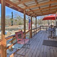 Waterfront Lake Hamilton House with Boat Dock!