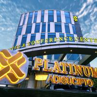 Platinum Adisucipto Hotel & Conference Center, hotel near Adisucipto Airport - JOG, Yogyakarta