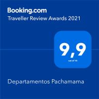 Departamentos Pachamama, hotel in Tunuyán