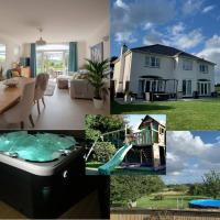WHITSUN WEEK 29TH MAY to 5TH JUNE NOW AVAILABLE Sleeps 11 Large stunning luxury home close to Worcester & Malvern with hot tub orchard & parking