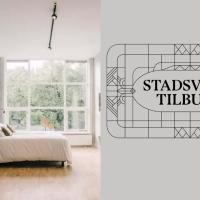 Stadsvilla Tilburg Suite Ernst, workspace garden and kitchen available