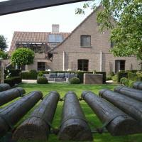 comfortabel appartement met privé terras en tuin tussen Brugge en Gent