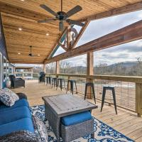 Upscale Riverfront Home with Beach and Fire Pit!