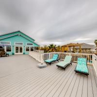 Cabana Blue, hotel in Jamaica Beach, Galveston
