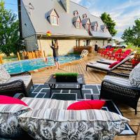 Villa Water View Pool Jacuzzi Firepits Children paradise, hotel em Saint-François