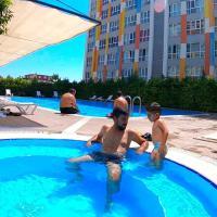 Lego residence (sauna, pools, gym, city center)