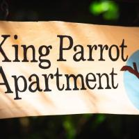 King Parrot Apartment set amid the beautiful & peaceful rainforest with garden views, hotel in Chilverton