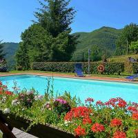 Popiglio Villa Sleeps 4 with Pool, hotel a Popiglio