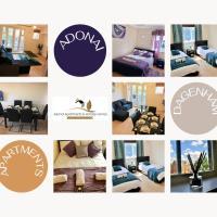 2 Bedroom Apartment at Dagenham , Adonai Serviced Accommodation, Free WiFi and Parking, hotel in Dagenham