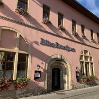 Altes Brauhaus, отель в Вайсенфельсе