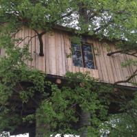 Treehouse Magpies Nest with forest and river views