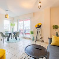 Modern, Stylish & Spacious Apartment With Balcony View, Hotel in Esch an der Alzette