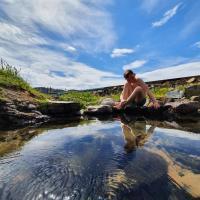 Hótel Laugarhóll with natural hot spring, hótel á Hólmavík