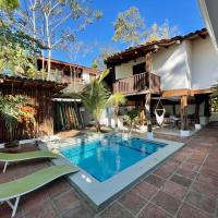 La Buena Vida Cabinas, hotel in Playa Grande