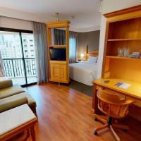 Estanplaza Ibirapuera, отель в городе Сан-Паулу