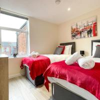 Spacious 4-bed house in Crewe by 53 Degrees Property, ideal for Contractors & Business, FREE parking - sleeps 7