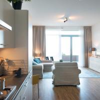 Modern apartment in the Scheveningen harbor