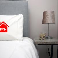 2 Bedroom City Apartment by FYH-Property, FREE parking