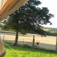 Comfy 1-Bed Bell Tent with great views