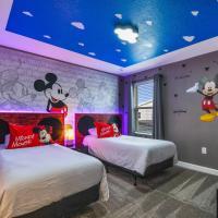 4531 Stylish Villa Sleeps 24 Pool and Game Room at Storey Lake, hotel in Orlando
