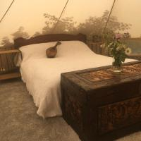 Secluded 6m Beach Bell tent North Norfolk Coast