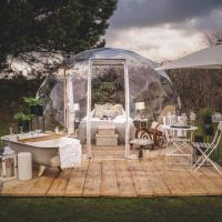 Lavender Parc. Sleeping under the stars in your very own luxury dome, hotel in Wendron