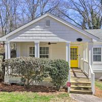 Charming College Park Cottage - 8 Mi to ATL!