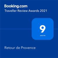 Retour de Provence