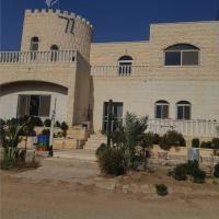The desert castle in the farm