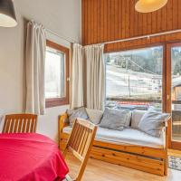 Apartment with 2 bedrooms in Morillon with wonderful mountain view and terrace 100 m from the slopes