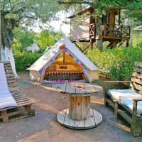 Nisi Glamping, hotel in Paralia Rachon