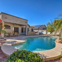 Warm Desert Oasis with Private Pool and Fire Pit!