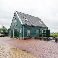 Holiday home for 10 people in the middle of the Beemster