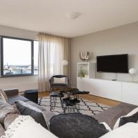Three room apartment with a view over the North Sea