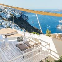 Blue Dolphins Apartments, hotel en Firostefani