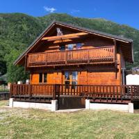 Chalet de 3 chambres a Orlu avec magnifique vue sur la montagne terrasse amenagee et WiFi