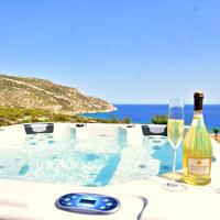 Ardani paradise view villa with jacuzzi, hotel in Amoopi