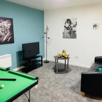 Stunning 1 Bed City Centre Apartment with Pool Table