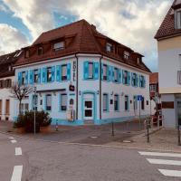 Gästehaus Kronenstraße, отель в городе Шветцинген