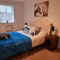 Patton Place, Warrington, 1 Bedroom, Safari Themed, High Speed WiFi, Smart TV, Amazing Train Links, Secure Location, Hotel Vibe in a Home