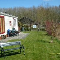 Tidy chalet with microwave, near the Wadden Sea