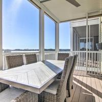 Bayfront Getaway with 3 Decks and 4 Mi to Beach!, hotel in Ocean View