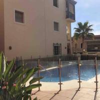 APARTAMENTO CON PISCINA JUNTO A PLAYA VILLARICOS, hotel en Cuevas del Almanzora