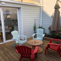 La maison du bonheur proche plage composée de 2 appartement et d'une belle terrasse, hotel near Le Touquet Airport - LTQ, Étaples