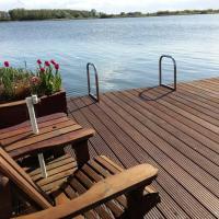 Ferienhaus Seelust direkt am See mit eigenem Steiger Ferienpark Vislust Ijsselmeer