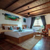 Room in Bungalow - Bungalow Double 13 - El Cortijo Chefchaeun Hotel Spa